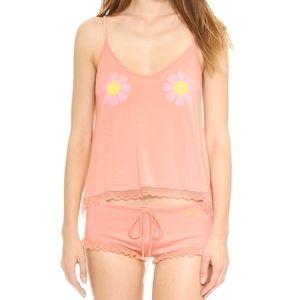 NWT WILDFOX Flower Girl Sleepover Pajama Set